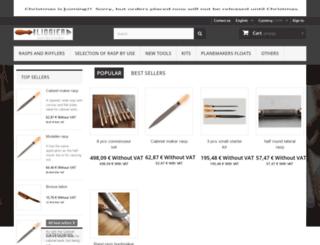 hand-stitched-rasp-riffler.com screenshot