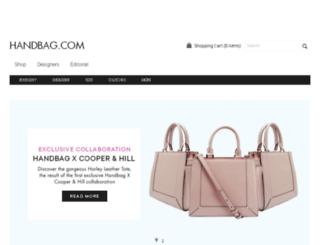 handbag.co.uk screenshot