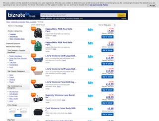 handbags.bizrate.co.uk screenshot