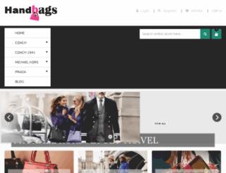 handbagsabouttown.com screenshot