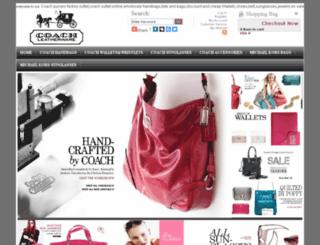 handbagspursesoutlettote.com screenshot