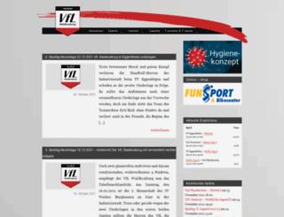 handball-waldkraiburg.de screenshot