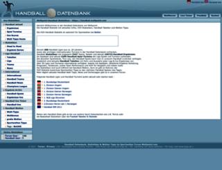handball.wettpoint.com screenshot