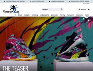 handball2go.de screenshot