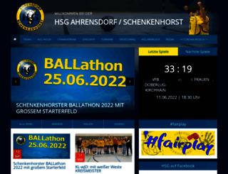 handballer-hsg.de screenshot