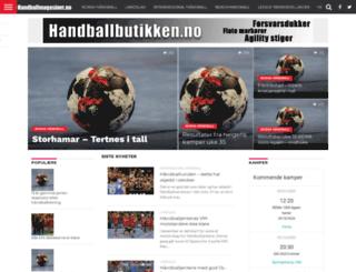handballmagasinet.no screenshot