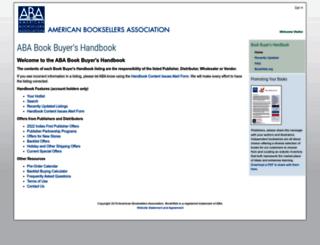 handbook.bookweb.org screenshot
