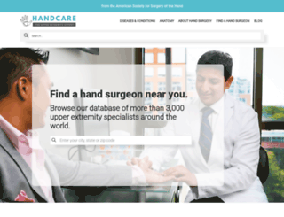 handcare.assh.org screenshot