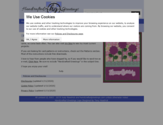 handcraftedgreetings.com screenshot
