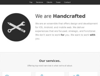 handcraftedsoftware.net screenshot