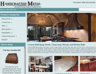 handcraftedstore.com screenshot