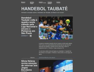 handeboltaubate.wordpress.com screenshot
