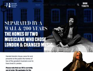 handelhouse.org screenshot