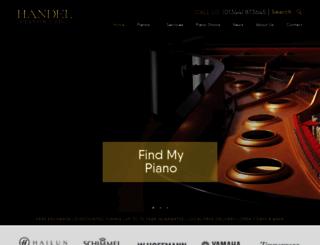 handelpianos.co.uk screenshot