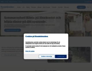 handelsbanken.se screenshot