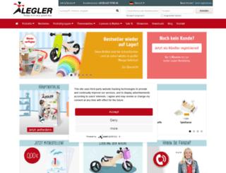 handelshauslegler.de screenshot