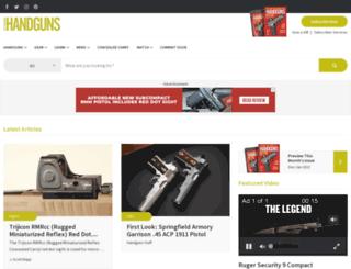 handguns.com screenshot