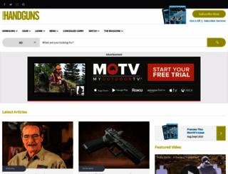 handgunsmag.com screenshot