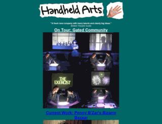 handheldarts.co.uk screenshot