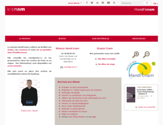 handi.cnam.fr screenshot