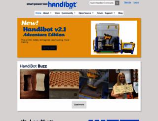 handibot.com screenshot