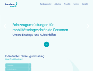 handicapmobil.de screenshot
