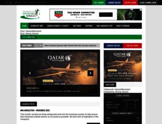 handicaps.co.za screenshot