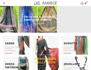 handloomkart.com screenshot
