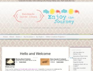 handmade-cards-ideas.com screenshot