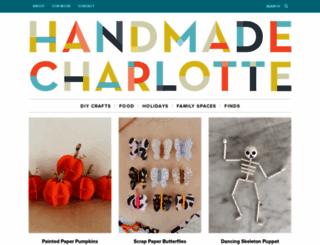 handmadecharlotte.com screenshot