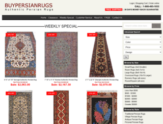 handmadepersianrugs.com screenshot