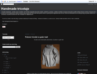 handmadetricot.blogspot.ro screenshot