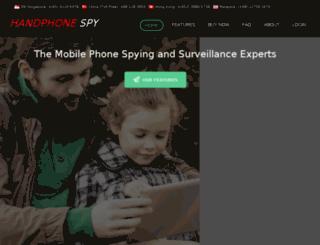 handphonespy.com screenshot