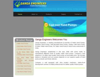 handpumpindia.com screenshot