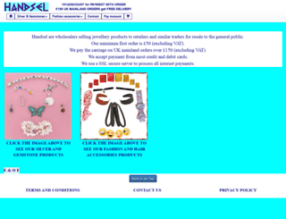 handsel.com screenshot
