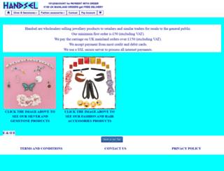 handsel.org.uk screenshot