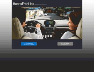 handsfreelink.com screenshot