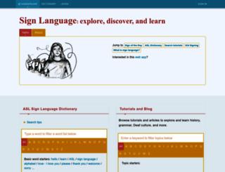 handspeak.com screenshot