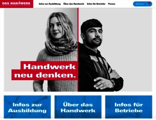 handwerk.de screenshot