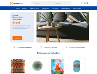 handwerk.nl screenshot
