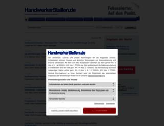 handwerkerstellen.de screenshot