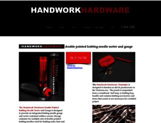 handworkhardware.com screenshot