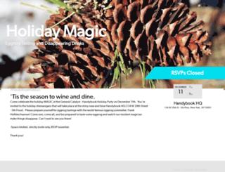handybookholidays.splashthat.com screenshot