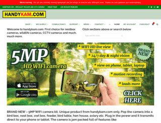 handykam.com screenshot