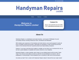 handymanrepairs.co.nz screenshot