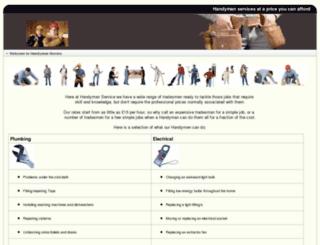 handymanservice.me.uk screenshot