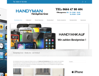 handyshop-graz.at screenshot
