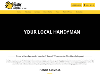 handysquad.com screenshot