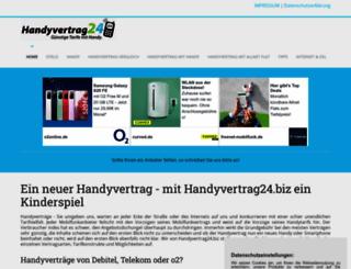 handyvertrag24.biz screenshot