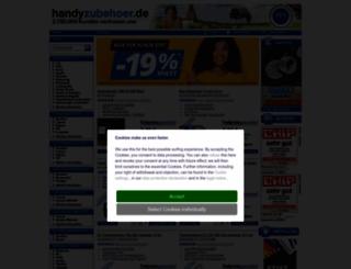 handyzubehoer.de screenshot